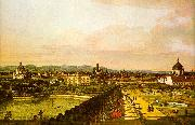Bernardo Berlotto View of Vienna from the Belvedere oil painting picture wholesale