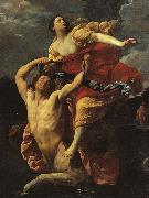 Guido Reni Deianeira Abducted by the Centaur Nessus oil painting artist