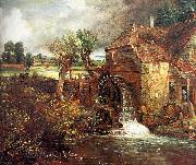 John Constable Parham Mill at Gillingham oil painting artist