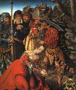 Lucas  Cranach The Martyrdom of St.Barbara oil painting artist