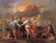 Nicolas Poussin Dance to the Music of Time oil painting artist