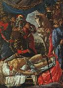 Sandro Botticelli The Discovery of the Body of Holofernes oil painting artist