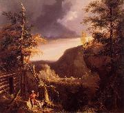 Thomas Cole Daniel Boone Sitting oil painting artist