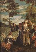 Paolo  Veronese The Finding of Moses (mk08) oil painting artist