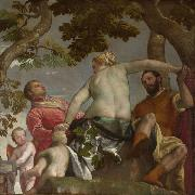 Paolo  Veronese Allegory of Love (mk08) oil painting artist