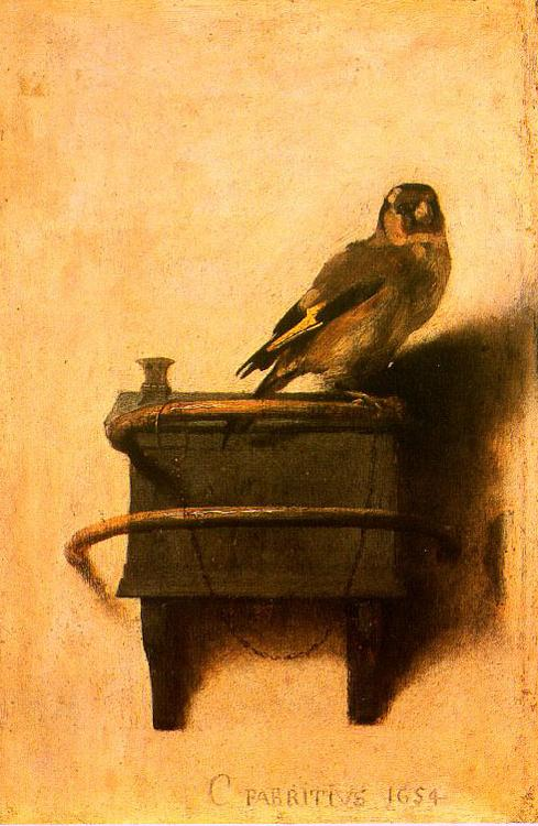 Carel Fabritus The Goldfinch oil painting image