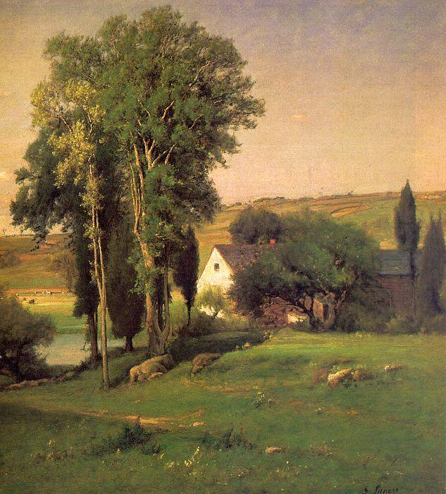 George Inness Old Homestead oil painting image