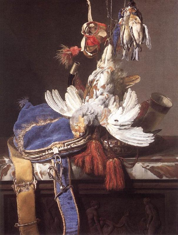 Willem van Hunting Still-Life oil painting image
